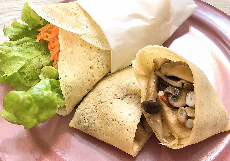 米粉v3ラップサンド|親子★横浜野菜キッチン
