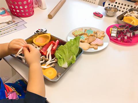 子供のお料理